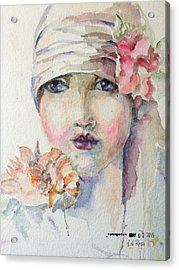 Flapper Acrylic Print