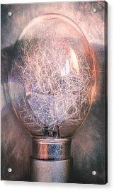 Flash Bulb Acrylic Print by Scott Norris