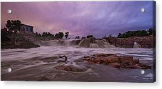 Flash Flood Acrylic Print by Aaron J Groen