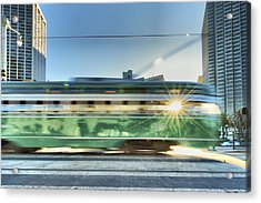 Flash Muni Acrylic Print