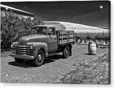 Flat Bed Chevrolet Truck Dsc05135 Acrylic Print