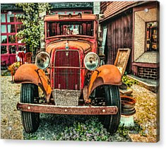 Acrylic Print featuring the photograph Flat Bed Ford by Nick Zelinsky