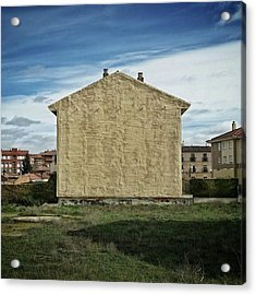 Flat House #architecture #building Acrylic Print