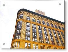 Flat Iron Building Facade Acrylic Print