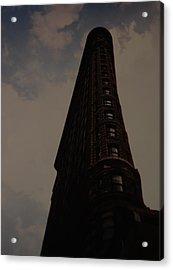 Flat Iron Building Acrylic Print by Rob Hans