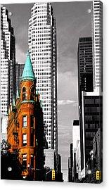 Flat Iron Building Toronto Acrylic Print
