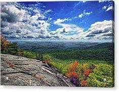 Flat Rock Vista Acrylic Print