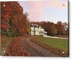 Flat Top Manor At Sunrise Acrylic Print
