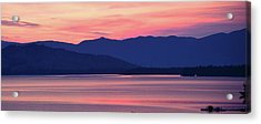 Flathead Lake At Sunrise Acrylic Print
