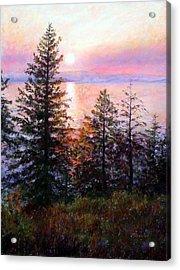 Flathead Lake Acrylic Print