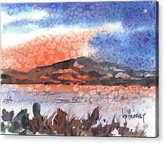 Flathead Lake Montana Acrylic Print by Kevin Heaney