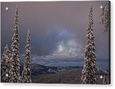 Flathead Winter 2016 Acrylic Print