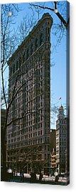 Flatiron Building Manhattan New York Acrylic Print by Panoramic Images