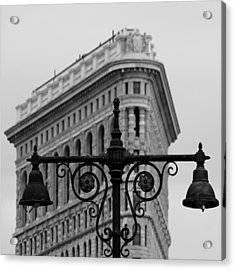 Flatiron Building New York Acrylic Print by Andrew Fare