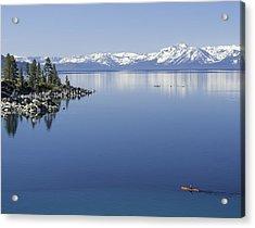 Flatwater Kayak Acrylic Print
