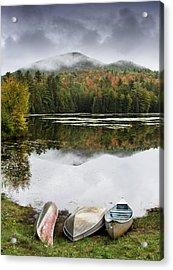 Flavor Of The Adirondacks Acrylic Print by Brendan Reals