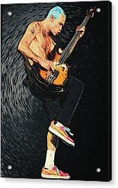 Flea Acrylic Print