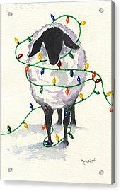Fleece Navidad Acrylic Print by Marsha Elliott