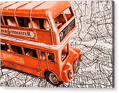 Fleet Street Acrylic Print