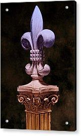 Fleur De Lis V Acrylic Print
