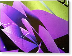 Fleur Acrylic Print by Jez C Self