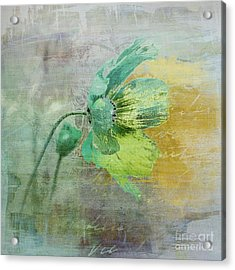 Fleurina - Jc3t33  Acrylic Print by Variance Collections