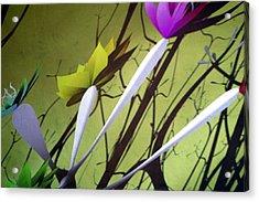 Fleurs 2 Acrylic Print by Jez C Self