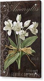 Fleurs De Paris Acrylic Print