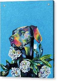 Fleur's Moment Acrylic Print