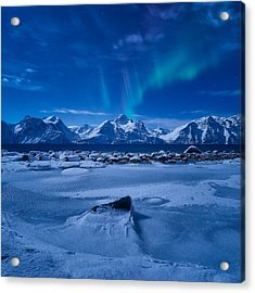 Flicker Acrylic Print by Tor-Ivar Naess