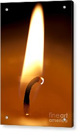 Flickering Flame Acrylic Print