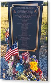 Flight 93 Heros Acrylic Print