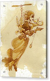 Flight Acrylic Print by Brian Kesinger