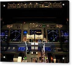 Flight Deck. Acrylic Print by Fernando Barozza