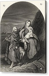 Flight Into Egypt From The National Acrylic Print