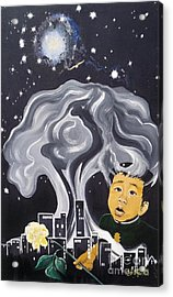 Flying Lamb Productions                Flight Of Hope Acrylic Print