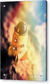 Flight Of Space Fiction Acrylic Print