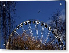 Flight Of The Ferris Acrylic Print by Jez C Self