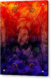 Flight Of The Phoenix Acrylic Print by Christopher Sprinkle