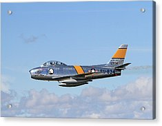 Flight Of The Sabre  Acrylic Print