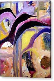 Flight Of The Sparrow Acrylic Print