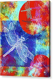 Flight Taking Form Acrylic Print by Jo-Anne Gazo-McKim