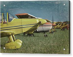Acrylic Print featuring the photograph Flightline by James Barber