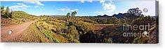 Flinders Ranges Acrylic Print by Bill Robinson