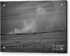 Flint Hills Burning Acrylic Print