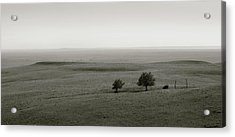 Acrylic Print featuring the photograph Flint Hills Vistas by Thomas Bomstad