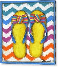 Flip Flops 2 Acrylic Print