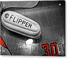 Flipper 30 - Pinball  Acrylic Print