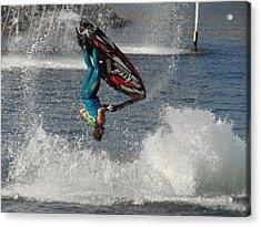 Jet Water Stunt Extreme  Acrylic Print