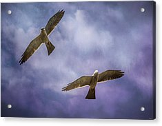 Flirting With The Storm Acrylic Print